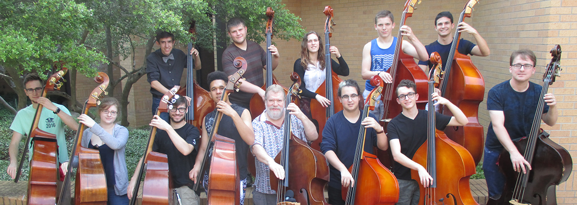 Lynn Seaton jazz double bass workshop participants